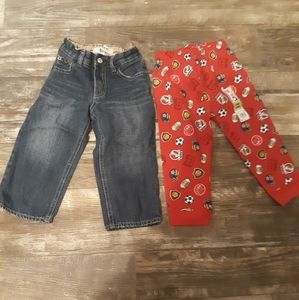 Boys Loose Fit Gap Jeans and Boys Sweat Pants